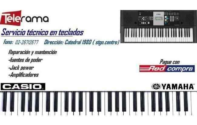 SERVICIOS TECNICO  DE TECLADOS CASIO