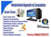 servicio técnico de reparación de computadores a domicilio