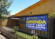 Fernandez escobar bienes raices arrienda casa villa el porvenir los andes