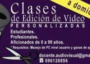 Clases audiovisuales en la tranquilidad de tu hogar!!!