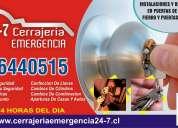 Cerrajería emergencia 24/7 aperturas casas y autos chapas
