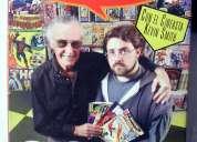 Stan lee documental monstruos y superheroes vhs + dvd en español e ingles
