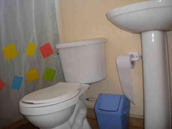Cabaña de vacaciones en baños termales.