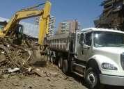 Limpieza de terreno chicureo 227033466 retiro escombros  nivelación de terreno