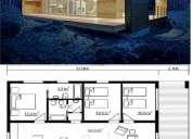 casa mediterrÁnea azul 120 mt2