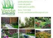 Jardinero - mantencion de jardines