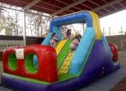 Arriendo de camas elasticas y juegos inflables