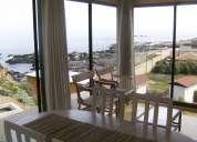 arriendo casa los molles 2 dorm. espectacular vista frente al mar
