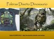 Dinosaurio poleras exclusivas impresiÓn 3d diseÑo dinosaurio