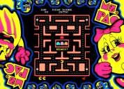 Tarjeta ms. pacman para video game arcade