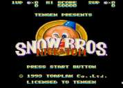 Tarjeta snow bros para video arcade