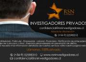 Rsn investigadores profesionales a cargo