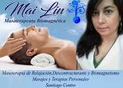 Mai lin masoterapia,biomagnetismo, energía shy