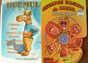 Oferta comic color huemulin con creador magico de comics