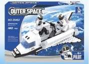 Entretenidos blocks tipo lego nave espacial