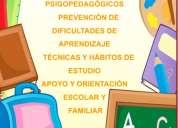 Apoyo, orientacion y evaluación psicopedagógica