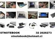 Pantalla cargador batería teclado notebook