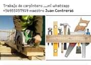 Carpintero en obra