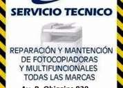 Reparación, mantención y recarga de toner para fotocopiadoras y multifunciónales