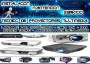 Mantencion y servicio tecnico de proyectores