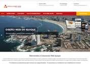 Diseño y desarrollo de páginas web en iquique www.creacionesiquique.com