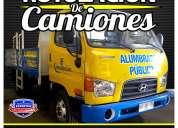 Gráfica para camiones, impresion e instalacion / grafica24
