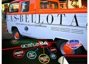 Logotipos publicitarios para vehiculos comerciales / grafica24