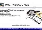 Traspasos video vhs -video 8 -minidvd  a dvd