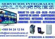 Smart tv - led - lcd - plasma  - linea blanca a domicilio