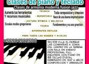 Clases de teclado/piano la serena