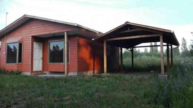 Arriendo Casa Nueva con terreno