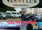 Van club transfer en concepcion