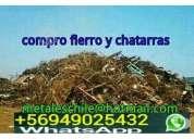 Compro fierro y chatarra en santiago 949025432 wsp