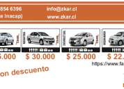 Rent a car zkar, puerto montt 23-04