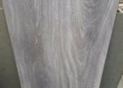 Piso flotante gris brillante vitrificado, independencia