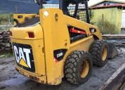 minicargador caterpillar 236b3 aÑo 2013