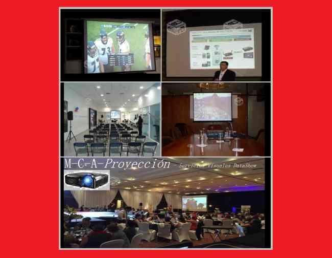 Servicios Proyección Audio Visual en general Data show / La serena Coquimbo Todo tipo de eventos