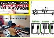 Clases de piano y teclado básico  la serena coquimbo / a domicilio