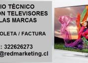 Servicio técnico reparación televisores quinta región