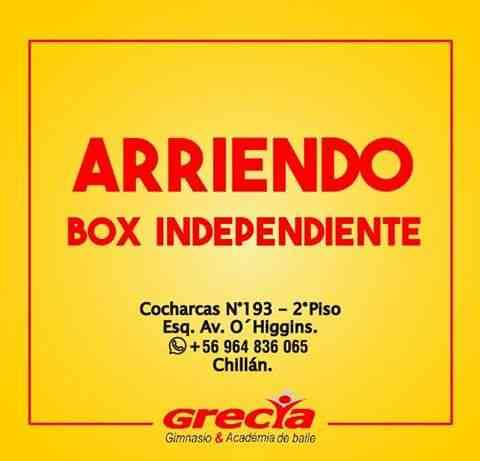 Arriendo Box en Chillan