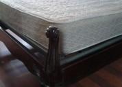 Vendo  cama antigua de plaza y media