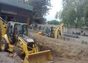 Arriendo retroexcavadora san miguel 227098271 demoliciones en todo stgo
