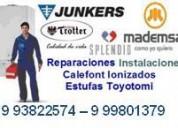 Arreglo de calefont mademsa 993822574 - 999801379, todos los modelos.. ionizados y convencionales..