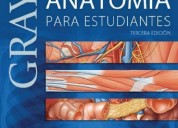 Gray anatomia para estudiantes 3 ed $20.000