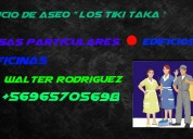 servicio aseo los tiki - taka