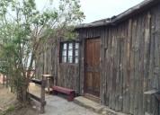 Cabañas para 6 personas con 2 dorm y 1 baño. equipadas