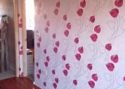 Instalacion papel mural varios diseños