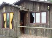 Hermosas cabañas equipadas para 6 personas en spa natura el tabo