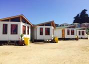Lindas cabañas para 6 personas en el tabo a solo 2 cuadras de la playa