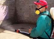 Servicios de control de plagas, desratización y fumigación fono: 228241154